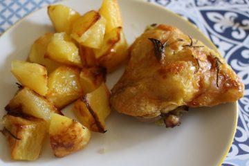 pollo-patate-forno-croccanti